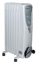Eļļas radiators 5 sekcijas