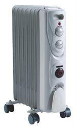 Eļļas radiators VID. 5 sekcijas