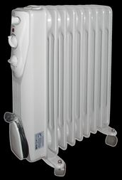 Eļļas radiators VID. 9 sekcijas