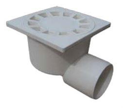Trape D50 mm, horizontal, white