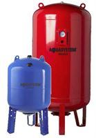 Pressure tanks and spare parts