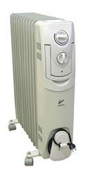 Eļļas radiators 9 sekc. 2 kW (410*147*640)