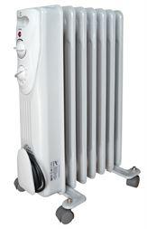 Eļļas radiators VID. 7 sekcijas