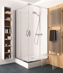 Shower cabin Kolo Record without tray 90x90, angular